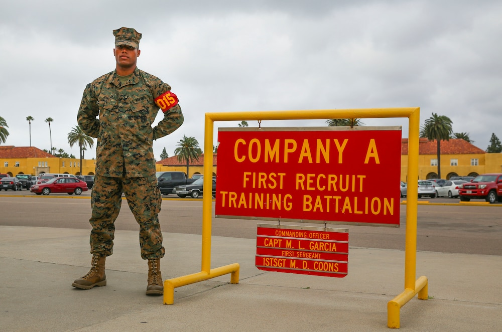 Alpha Company Marine Leaves Home to Join the Corps
