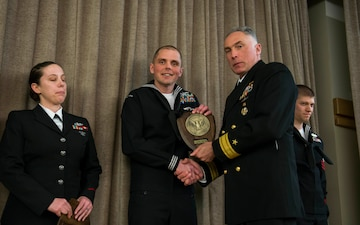 COMSUBGRU-9 Recognizes 2016 Sailors of the Year
