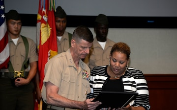 Posthumous Congressional Gold Medal awarded to Montford Point Marine