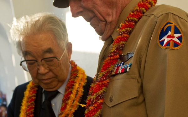 'Blackened Canteen' Ceremony Promotes Peace Between US, Japan