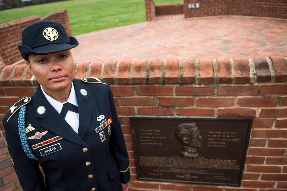 The Old Guard first infantry female NCO pioneers the way ahead