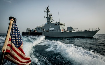 U.S., Iraq, Kuwait Conduct First Trilateral Exercise in Northern Arabian Gulf