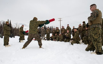 Alaska Marines conduct pugil stick training