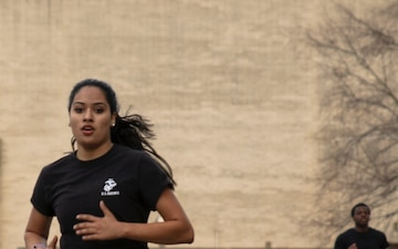 Cary native overcomes physical challenges in preparation for USMC bootcamp