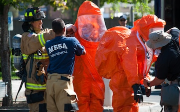 Arizona Guard's Civil Support Team assists local HAZMAT response