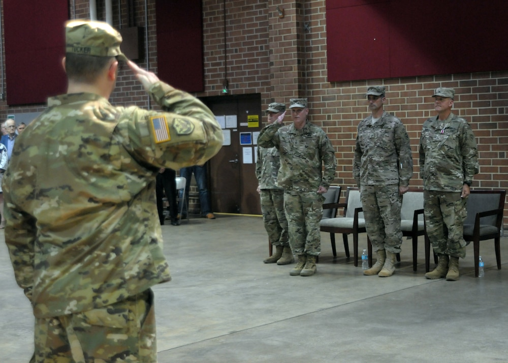 Tar Heel Native Assumes Command of 60th TC
