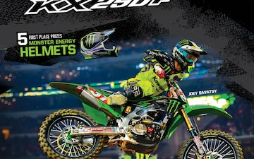 Monster Kawasaki Motorcycle Sweepstakes
