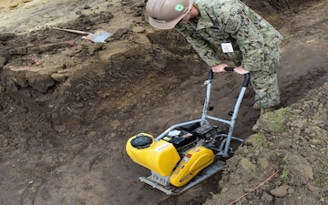 Navy Seabees Conduct Engineering Operations