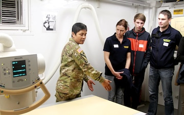 Army field hospital opens doors to local partners