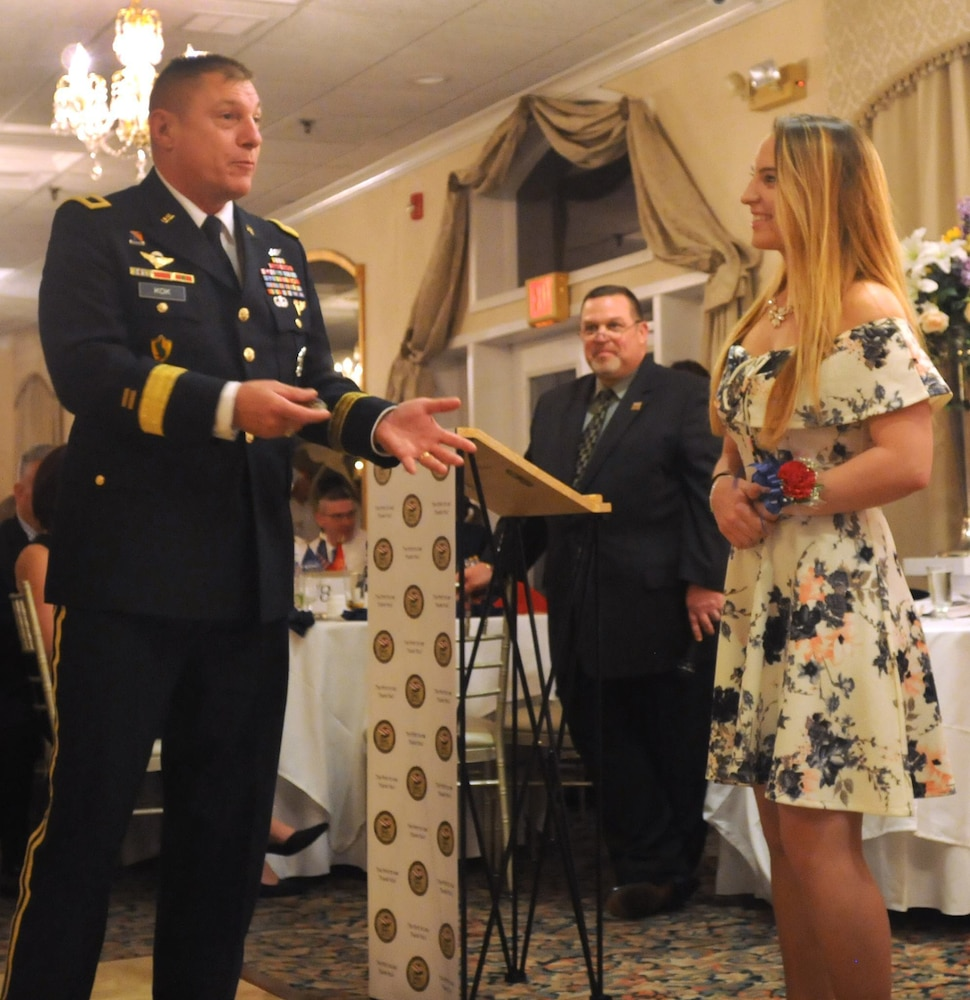 Army Reserve general helps honor high school seniors