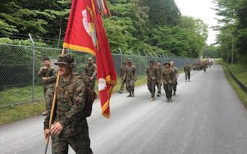 Marines trek 50 miles in less than 10 hours