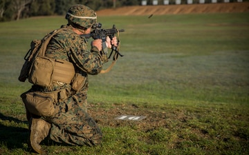 Virginia Marine competes in Australian international shooting competition