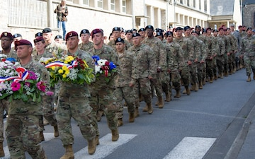 4th Infantry Division commemorates 73rd anniversary of D-Day in Montebourg, France