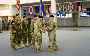 Falcon battalions welcome new leadership