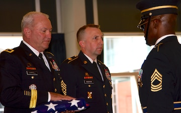 377th Theater Sustainment Command Leader Relinquishes Command and Retires