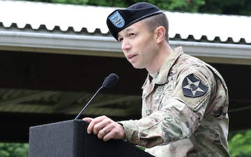 'Ghost Brigade' holds change of command ceremony