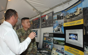 NSWC Dahlgren Division Scientists Spotlight Directed Energy at DoD Lab Day