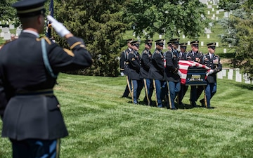 Old Guard lays former regimental commander to rest