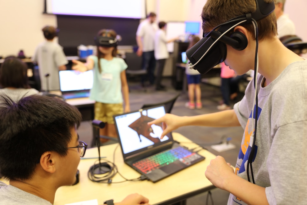 Military kids use virtual, augmented reality to STEMulate learning