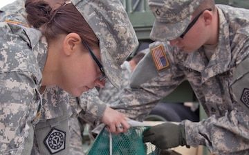 Cleaning up in the field - 126th Quartermasters excel during first unit annual training