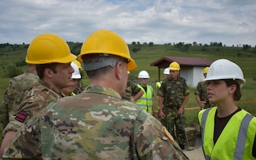 Brig. Gen. Jolly Visits U.K. Project Sites