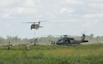 1-118FA air assault gun raid