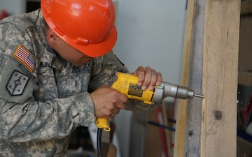 U.S. Army Reserve Engineers construct troop readiness at Hohenfels