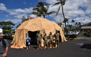 2IBCT 'Warriors' participate in Waianae Disaster Fair