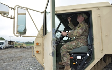 Capt. Michael Meissner ensures vehicle readiness