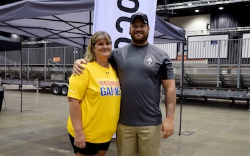 Giving back: Wounded warrior's mom joins DoD Warrior Games as volunteer