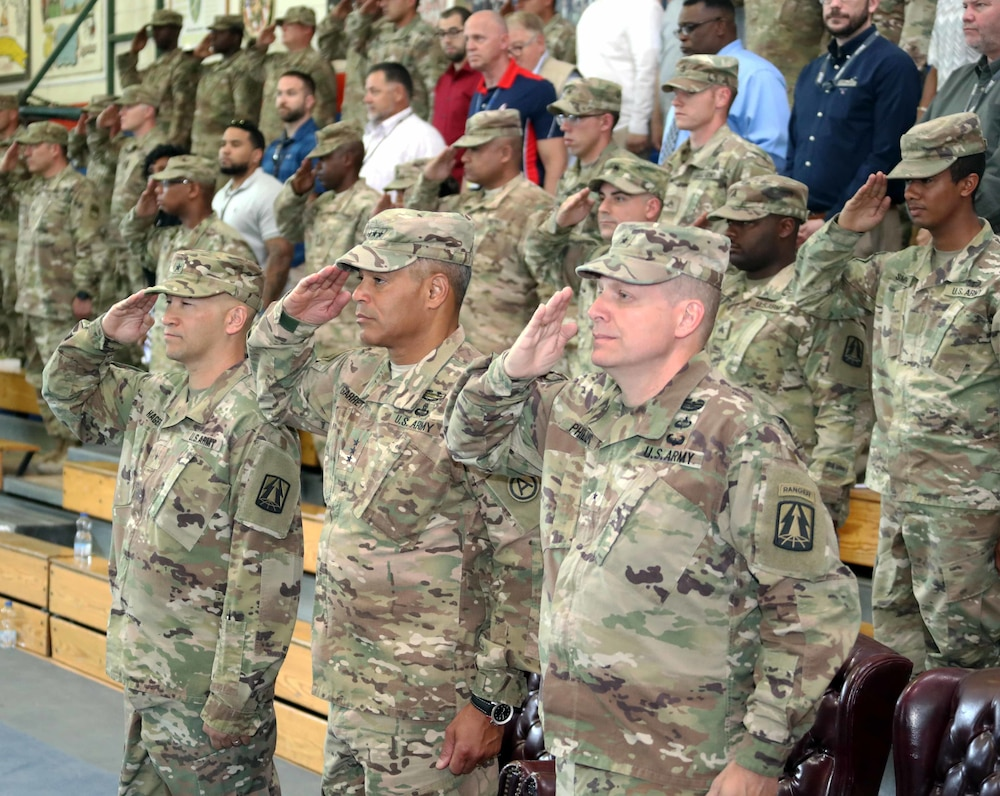Brig. Gen. Phillips takes 'Ready Lightning' command