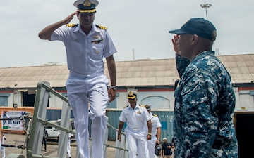 USS Princeton (CG 59) Arrives in India for Malabar 2017 [Image 1 of 3]