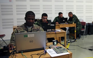 International Help Desk assists Saber Guardian 17 computer, network users
