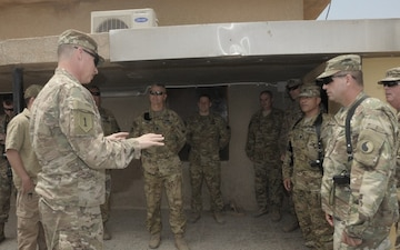 29th CAB hosts Maj. Gen. Martin for final visit