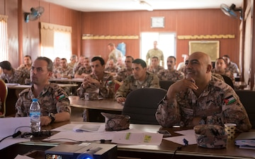 1st TSC Continues U.S. and Jordanian Training