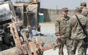 1st AD RSSB travels to Southeast Afghanistan