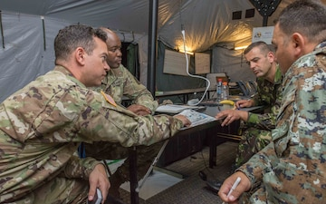 Medical Brigade demonstrates interoperability with Romania during Saber Guardian 17