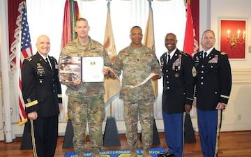 703rd BSB earns Distinguished Unit of the Quartermaster award