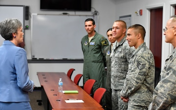 SecAF Visits 152nd AW