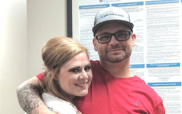 Navy Spouse donates Kidney to save Family Member