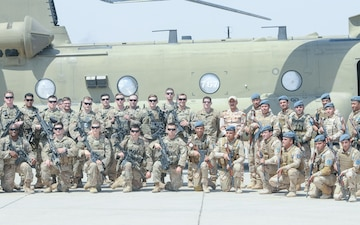 29th CAB Soldiers expand partnership with Iraqi security forces