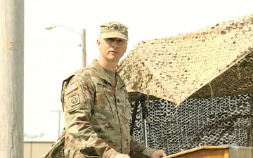 Taking Charge; 2nd Combined Arms Battalion, 137th Infantry Regiment change of command