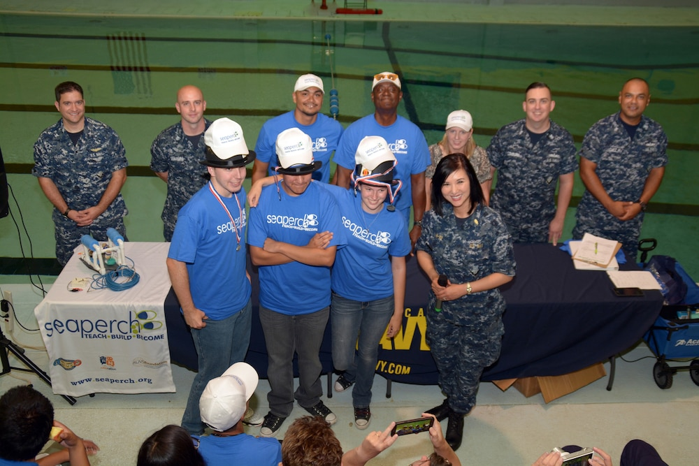 America's Navy assists in Annual Regional SeaPerch Summer Prep Camp