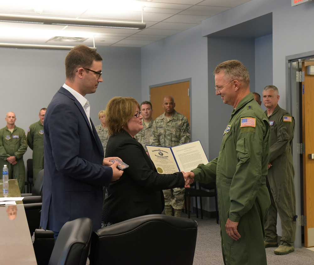 Stratton Air National Guard Base conference facility named in honor of Chuck Steiner