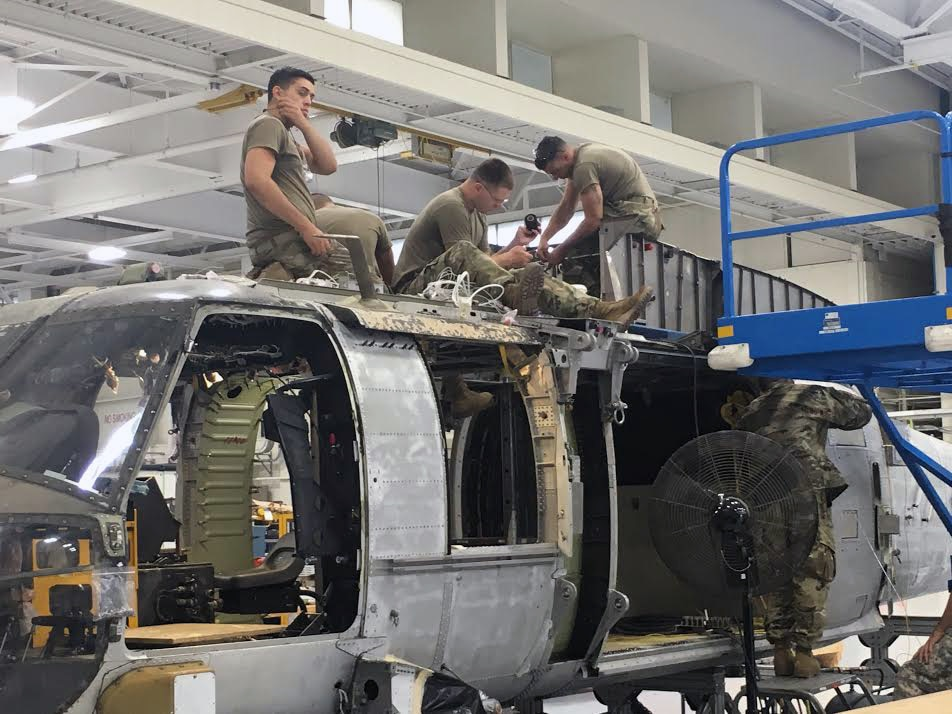 NY aviation mechanics turn wrenches to support Northeast UH-60 fleet
