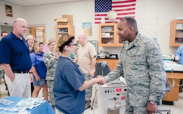 Smoky Mountain Medical IRT Welcomes Distinguished Visitors