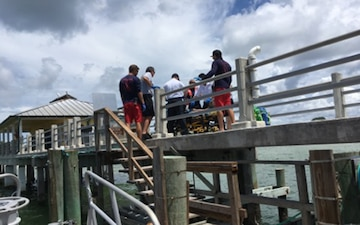 Coast Guard medevacs diver 20 miles west of Egmont Key
