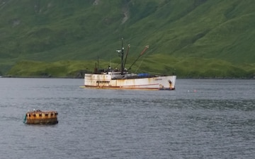 UPDATE: PHOTO RELEASE: Multiagency response to fishing vessel Akutan continues