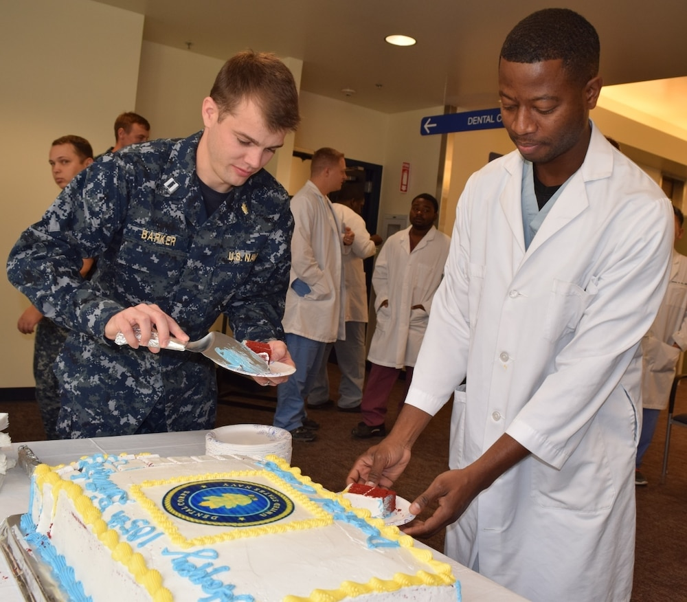 Navy Dental Corps 105th Celebrated at Naval Hospital Bremerton