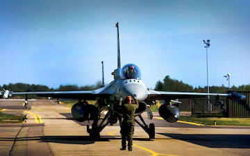 U.S. Air Force assumes lead of NATO Baltic Air Policing mission